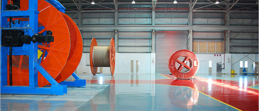 Epoxy high gloss flooring - cable manufacturing