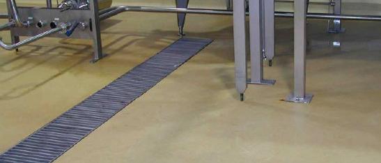 Polyurethane floors -chemical resistant floor coating