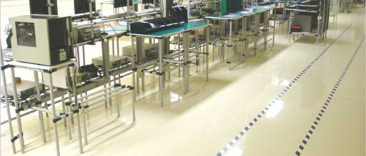 Anti static Epoxy Floors - electronics industry