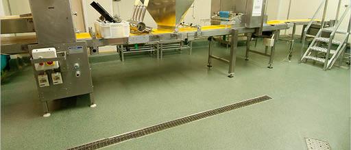 Polyurethane hygiene coatings - food industry