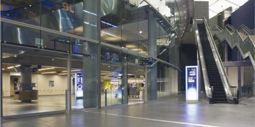 terrazo flooring for shopping malls