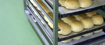Polyurethane flooring bakery