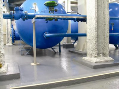 chemical resistant epoxy linings