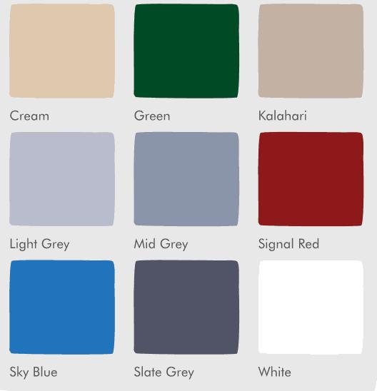 colour chart epoxy